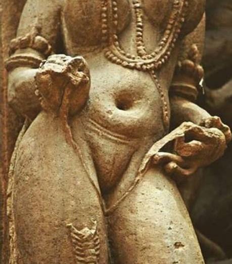statue de vagin