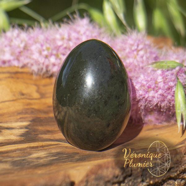 Oeuf de yoni en jade néphrite grande taille